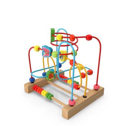 Bebé Aprendizaje Temprano Laberinto de madera