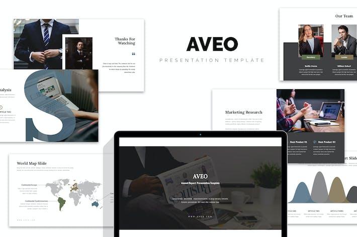 Thumbnail for Aveo: Отчет по продажам и маркетингу Powerpoint