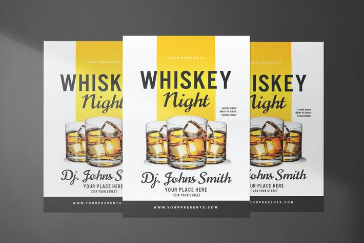 Thumbnail for dépliant Night Whisky