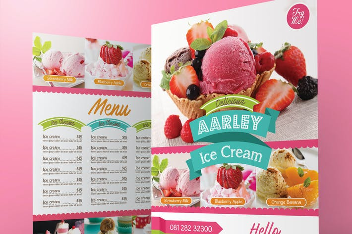 Thumbnail for Ice Cream Menu