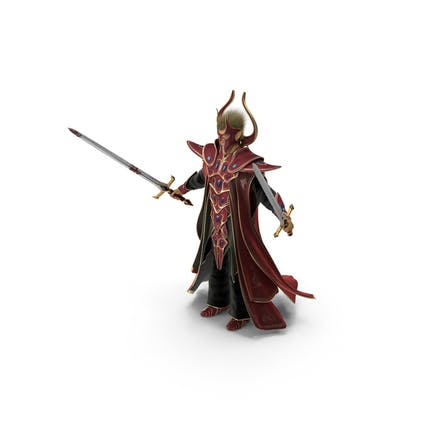 Fantasy-Schwertkämpfer