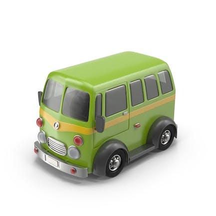 Мультфильм микроавтобус