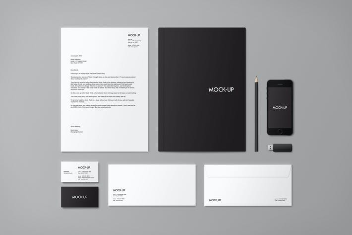 Thumbnail for Stationery & Branding Mock-up