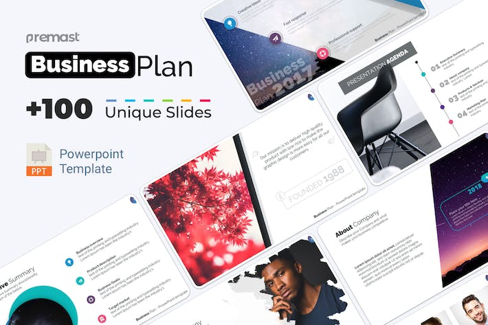 Thumbnail for PowerPoint Business Plan Template PPT