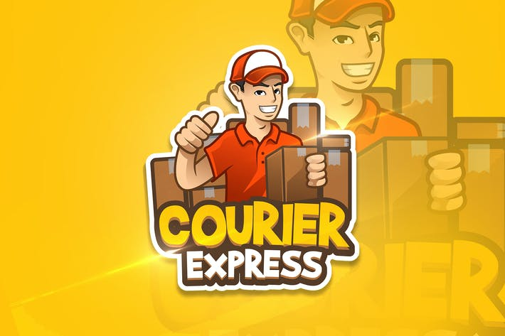 Thumbnail for Courier Express - Mascot & Esport Logo