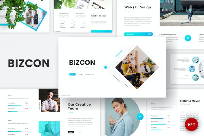 Cover Image For Business Corporate PowerPoint Template