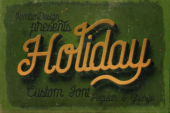 Thumbnail for Holiday - Creative Script Font