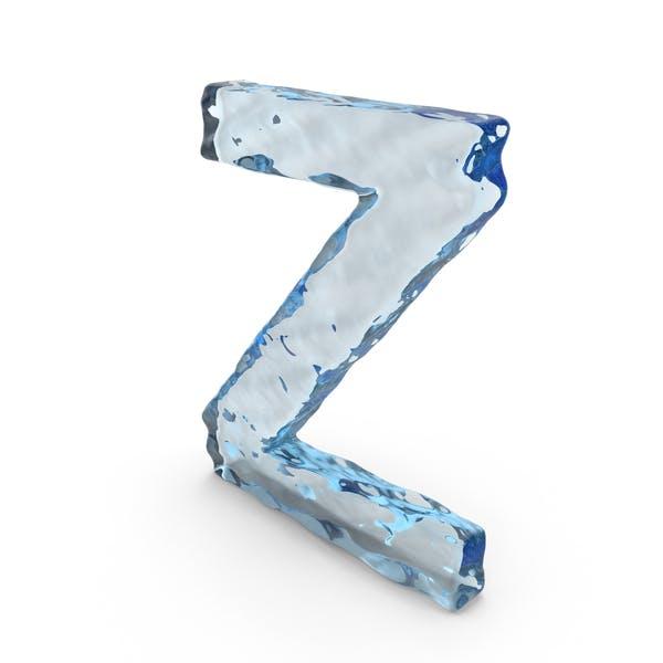 Thumbnail for Water Letter Z