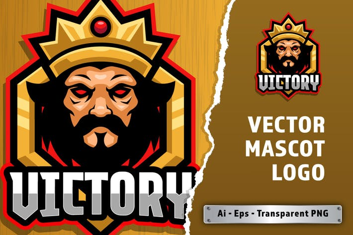 Victory E-sport Logo Template