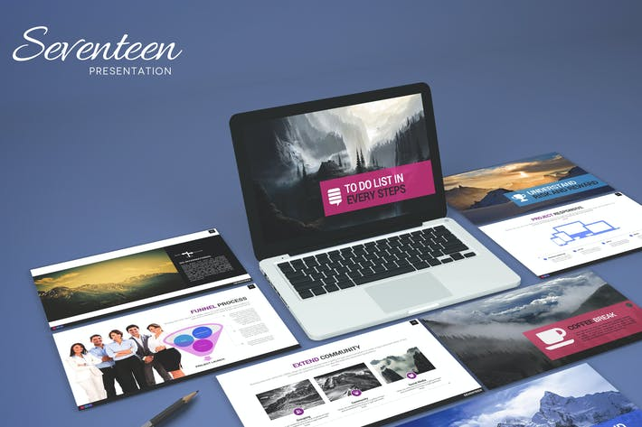 Thumbnail for Seventeen - Powerpoint Template