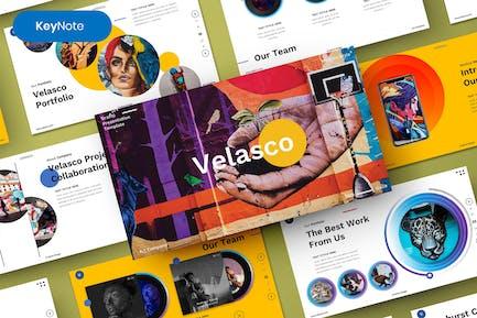 Velasco – Grafiti Keynote Template