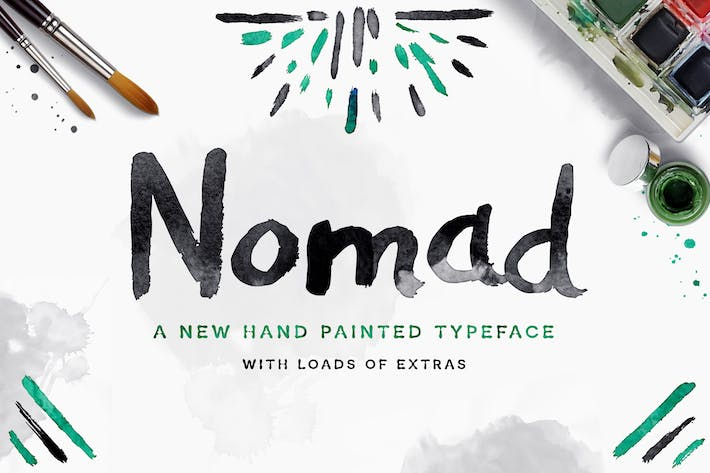 Thumbnail for Nomad Font
