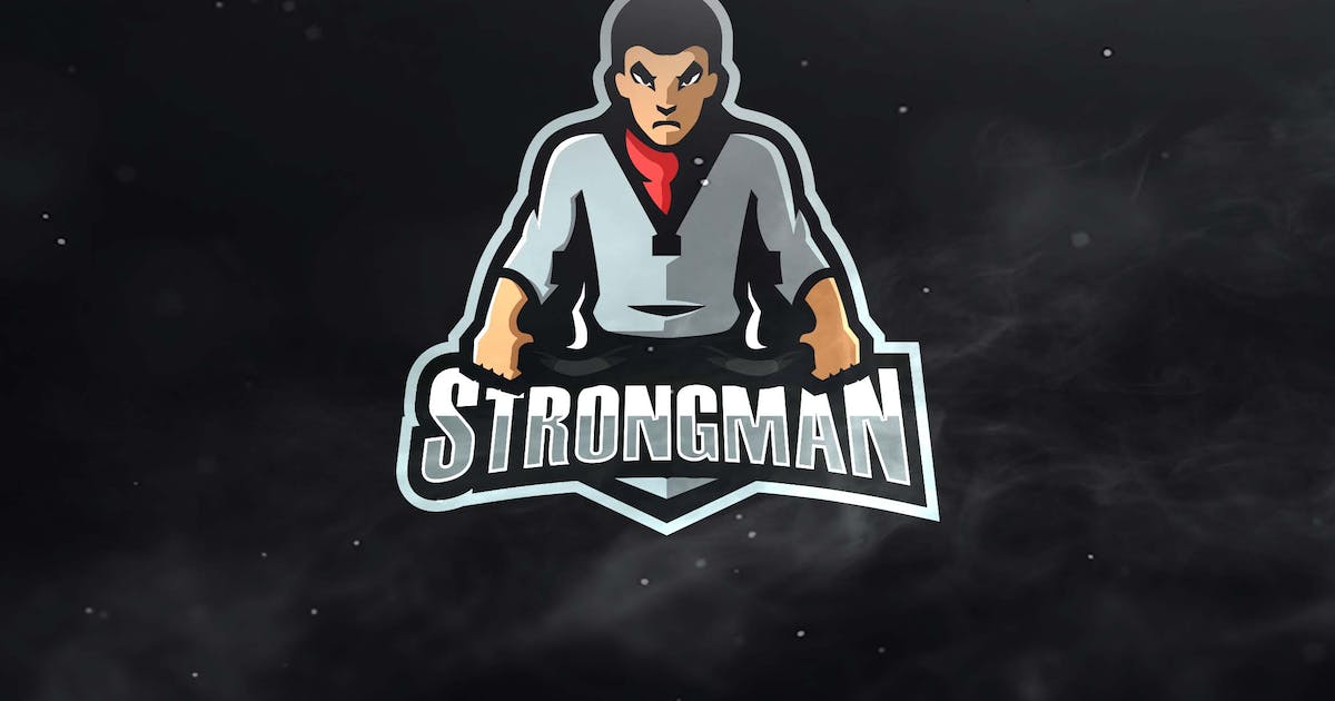 Download Strongman Sport and Esports Logos by ovozdigital