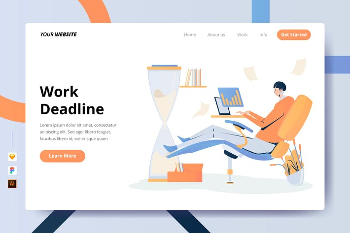 Thumbnail for Work Deadline - Landing Page
