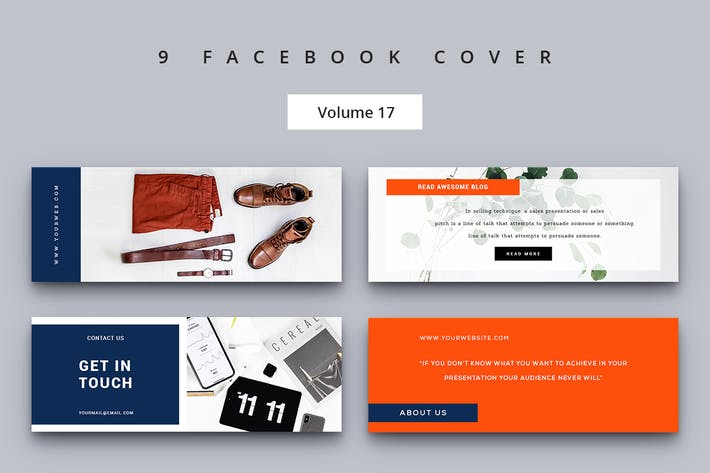 Thumbnail for Facebook Cover Vol. 17