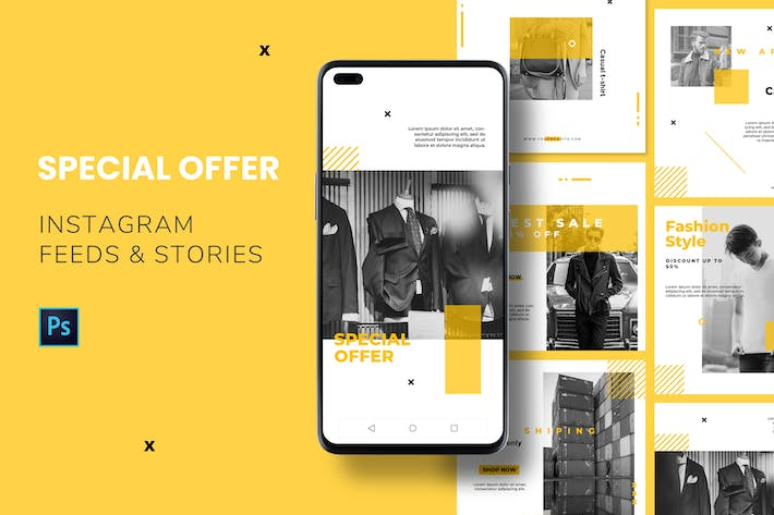 Special Offer Instagram Feed & Stories
