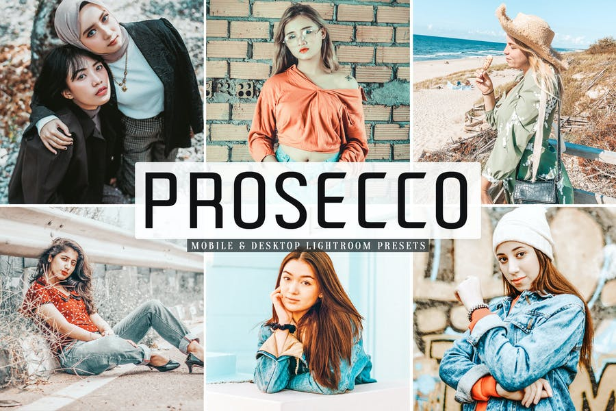 Prosecco Mobile & Desktop Lightroom Presets