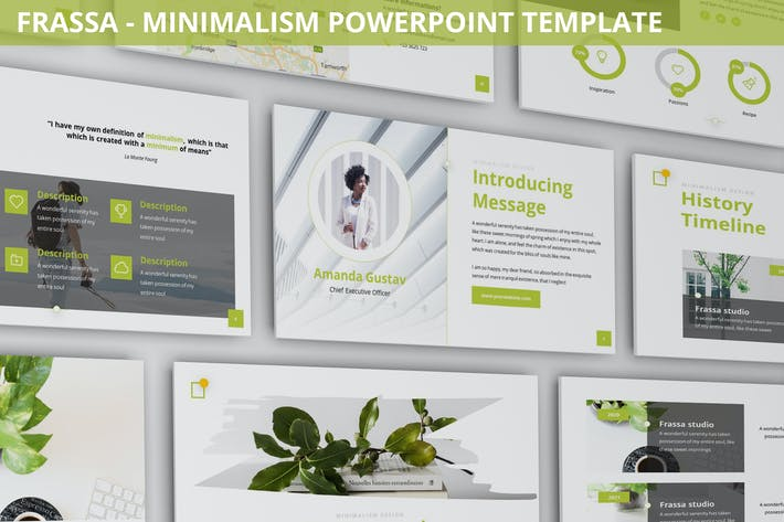 Thumbnail for Frassa - Minimalism Powerpoint Template