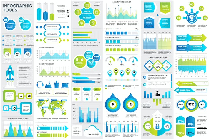 Thumbnail for Infographics Template