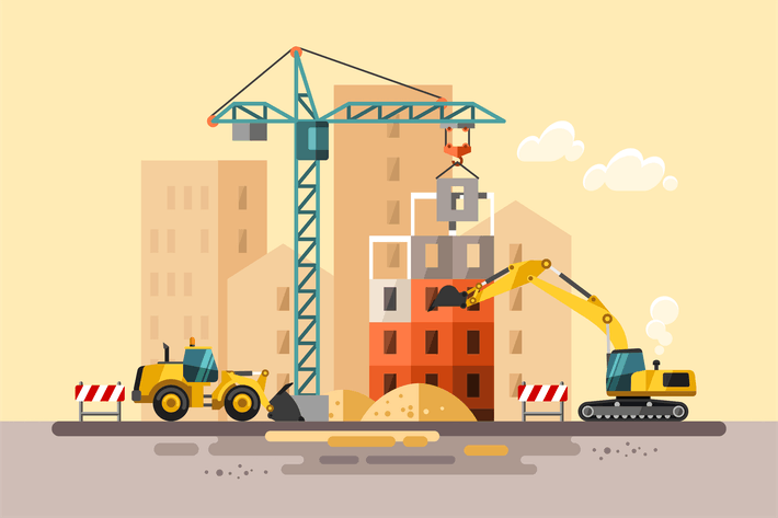 Thumbnail for Obra de construcción Construcción de una House