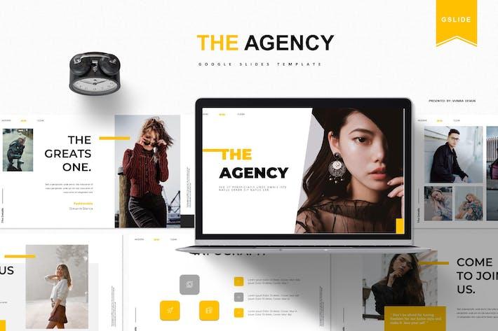 Thumbnail for The Agency | Google Slide Template