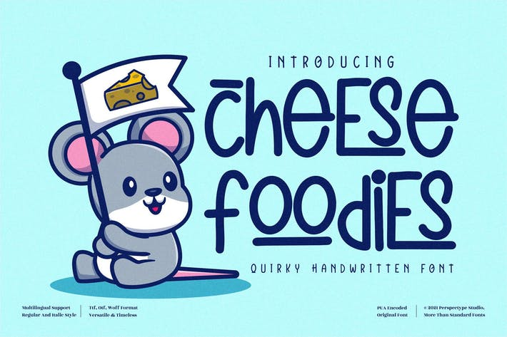 Cheese Foodies Quirky LS