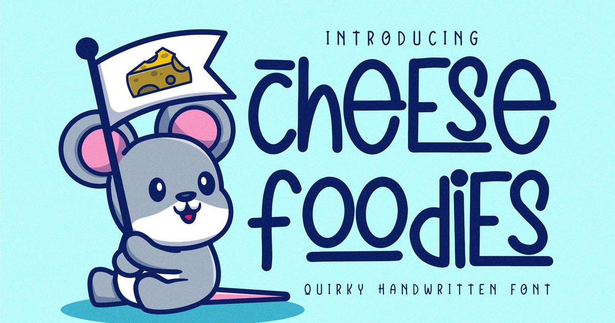 Download Cheese Foodies Quirky LS by GranzCreative