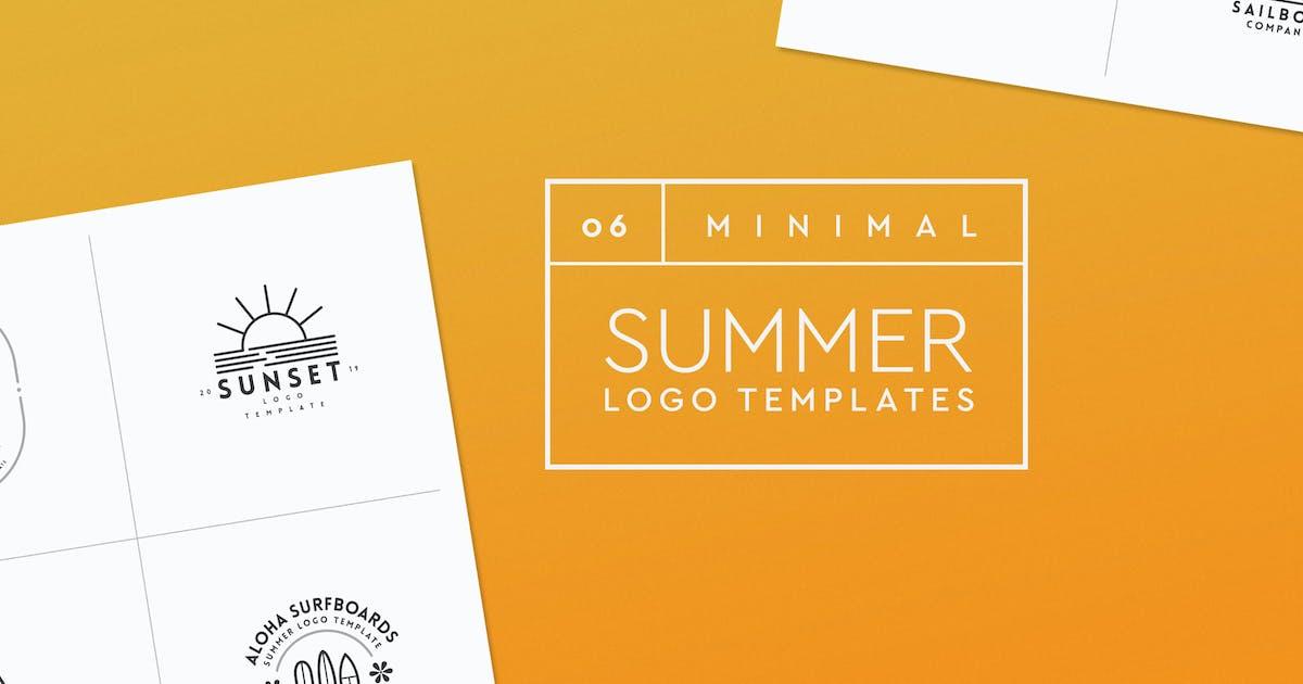 Download Minimal Summer Logo Templates by Easybrandz2