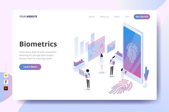 Thumbnail for Biometrics - Landing Page