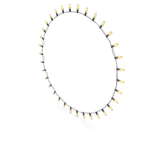 Thumbnail for Stringed Lightbulbs Circular Line On