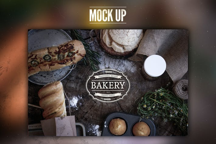Thumbnail for Rustic Bakery Mock Up