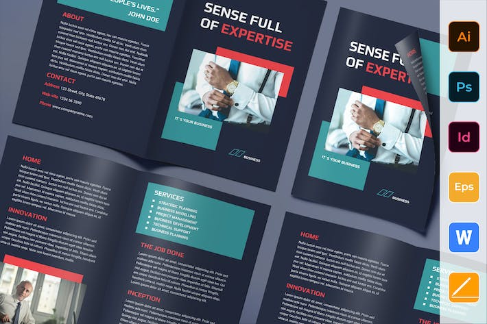 Thumbnail for Business Consultant Brochure Bifold