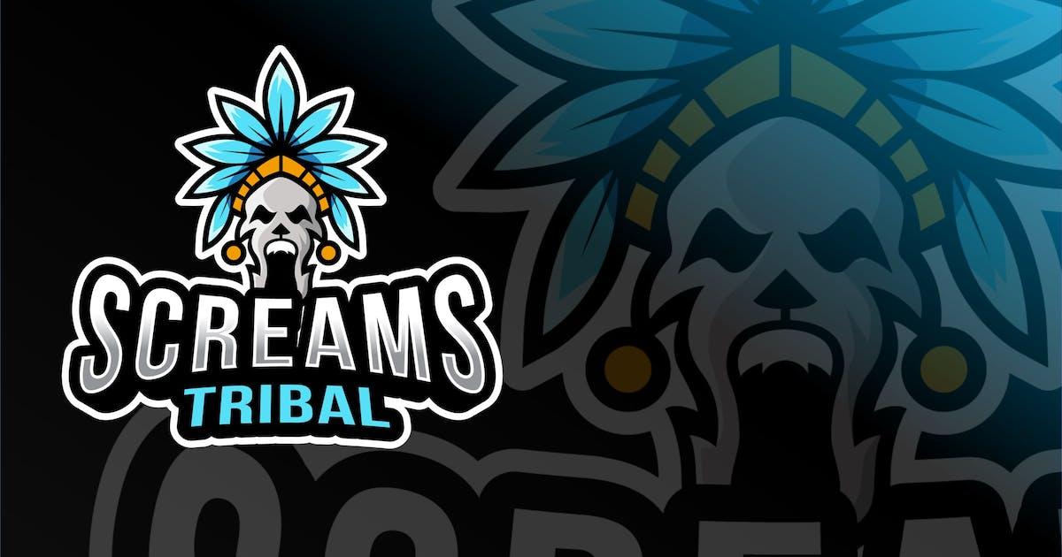 Download Tribal Screams Esport Logo Template by IanMikraz