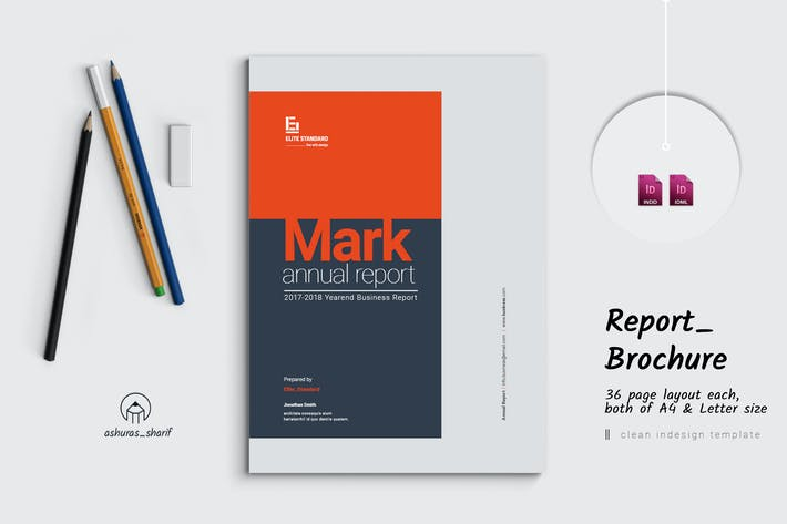 Thumbnail for Mark Annual Report