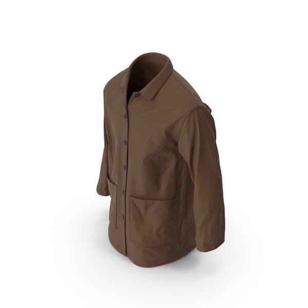 Mens Shirt Brown