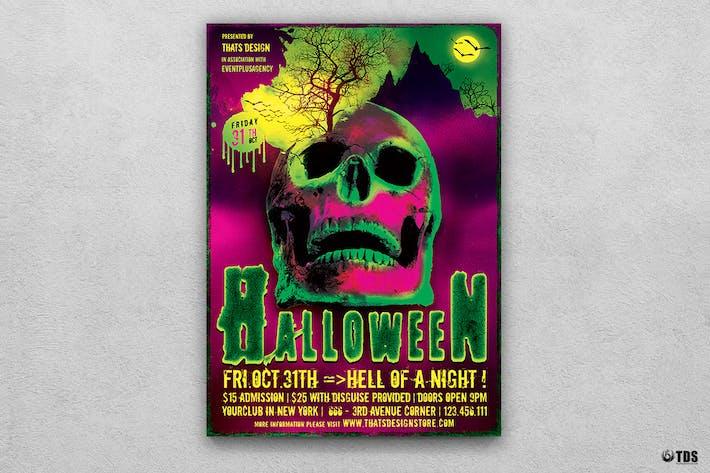 Thumbnail for Halloween Flyer Template V14