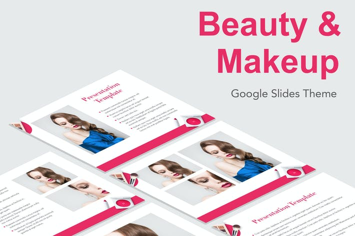Thumbnail for Beauty & Makeup Google Slides Theme