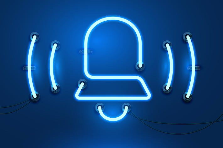 Thumbnail for Collection of Neon Business Icons with Wires