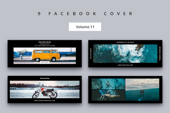 Thumbnail for Facebook Cover Vol. 11