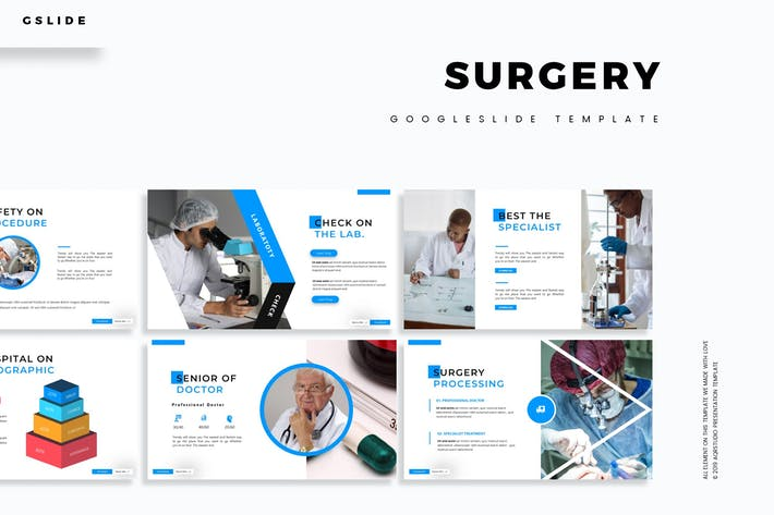 Surgery - Google Slides Template