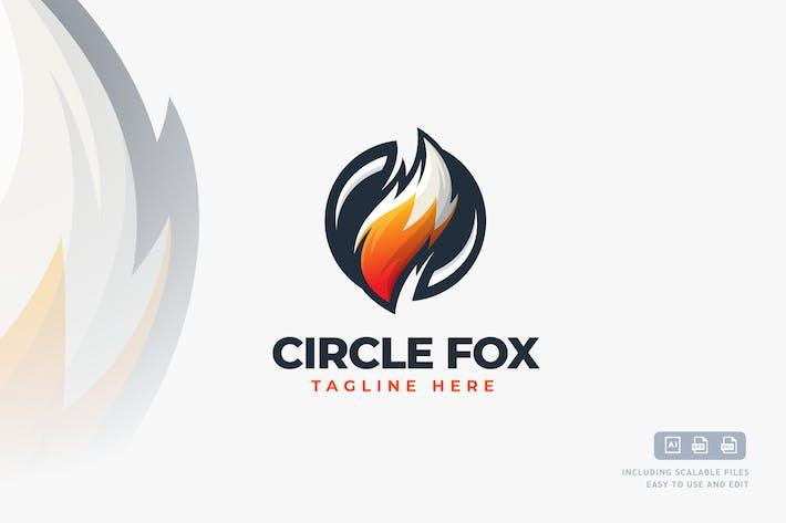Thumbnail for Circle Fox - Logo design template