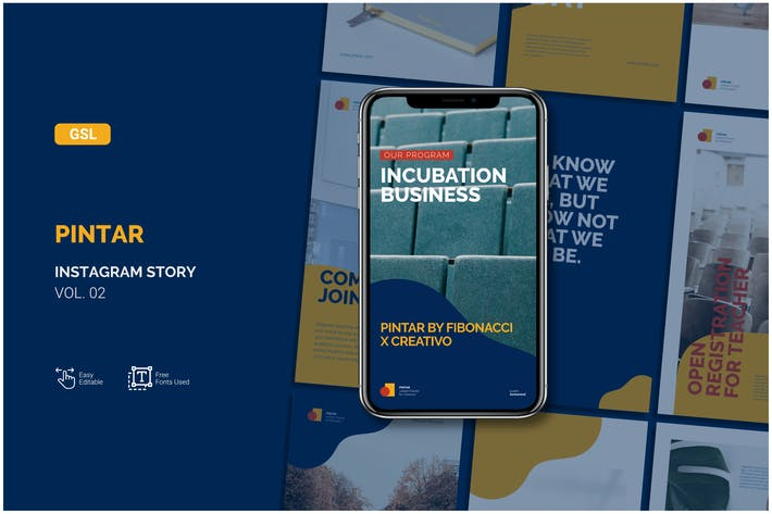 Pintar Instagram Story - google slide