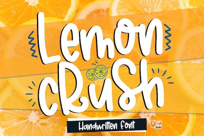 Thumbnail for Lemon Crush - Handwritten Font