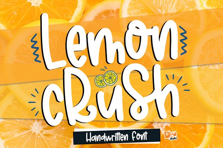 Thumbnail for Lemon Crush - Fuente escrita a mano