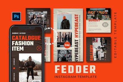 Fedder - Hype Instagram Histoires et Post