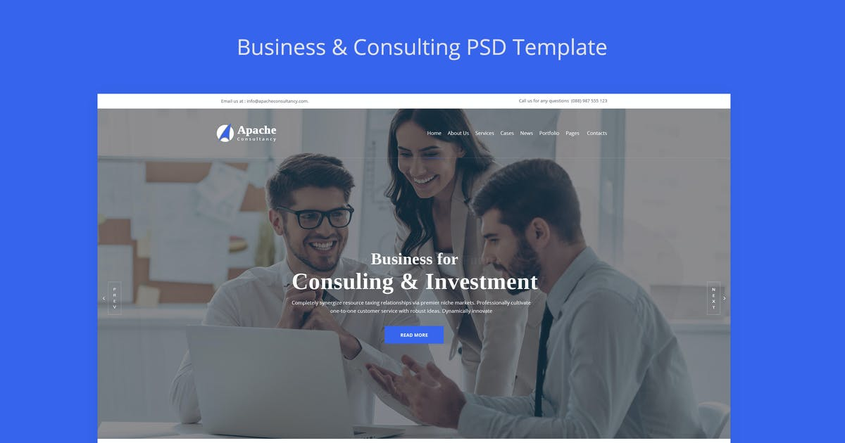 Download Apache-Business-Consulting HTML Template by CreativeGigs