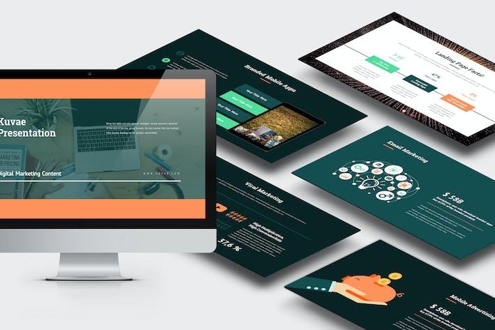 Thumbnail for Kuvae : Digital Marketing Proposal Keynote