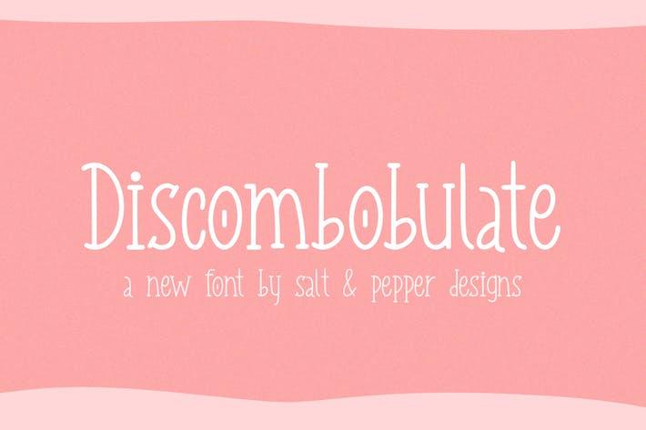 Thumbnail for Discombobulate Font