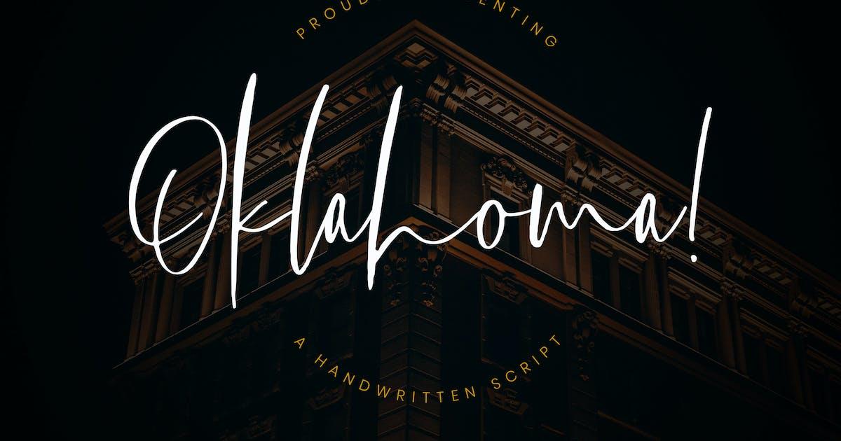 Download Oklahoma Handwritten Script by RahardiCreative