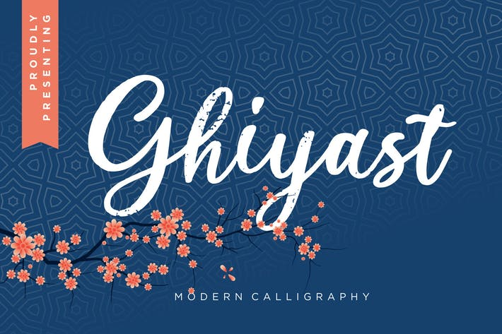 Thumbnail for Ghiyast Modern Calligraphy